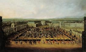 Caroussel Comique, Act in the Zwinger to Dresden 1722