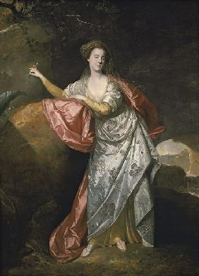 Ann Cargill (nee Brown) as Miranda in The Tempest by Shakespeare. London, Covent Garden Theatre