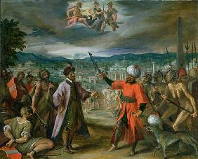Allegory of the Turkish Wars: The Declaration of War at Constantinople, 1603-4