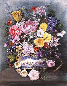 Flowers in a Sevres Jardiniere