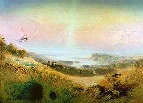 The Celestial City and the River of Bliss, 1841 (oil on canvas)