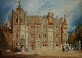 Abbatial House at the Abbey of St. Ouen at Rouen