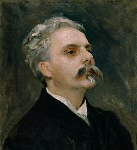 Portrait of Gabriel Faure (1845-1924)