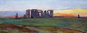 Stonehenge, 1872 (oil on canvas)