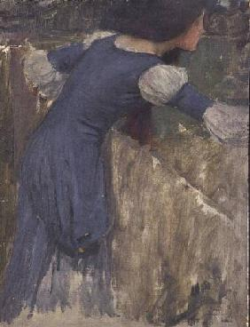 A Study for the Flower Picker