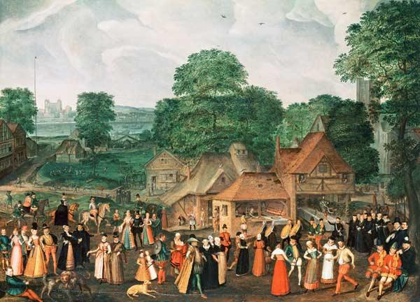 A Fete at Bermondsey, c.1570