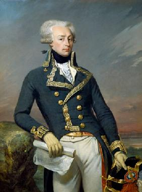 Portrait of Gilbert Motier (1757-1834) the Marquis de La Fayette as a Lieutenant General