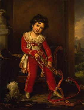 Portrait of Maximilian de Beauharnais, 3rd Duke of Leuchtenberg as Child