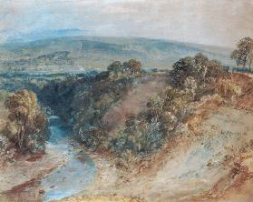 Valley of the Washburn, 1818 (w/c and gouache on paper)