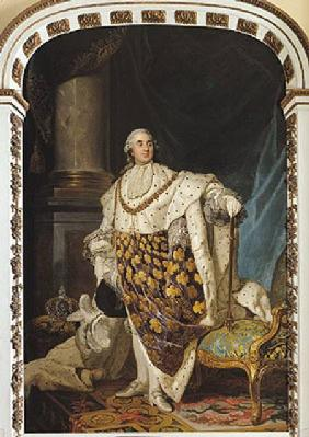 Louis XVI (1754-93) in Coronation Robes