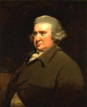 Portrait of Dr Erasmus Darwin (1731-1802) scientist, inventor and poet, grandfather of Charles Darwi
