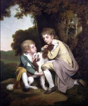 Thomas and Joseph Pickford as Children