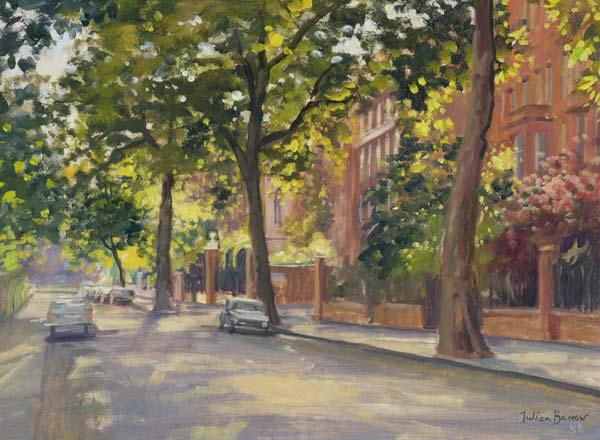 Cheyne Walk (oil on canvas)