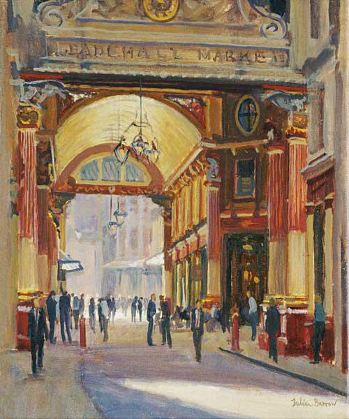 Leadenhall Market - the Crossroads (oil on canvas)