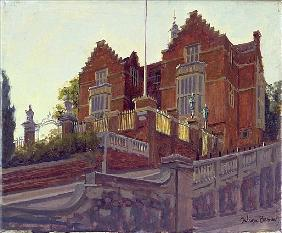 The Old Schools, Harrow (oil on canvas)