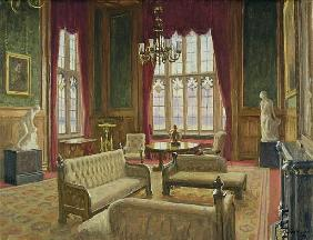 The River Room, Palace of Westminster (oil on canvas)