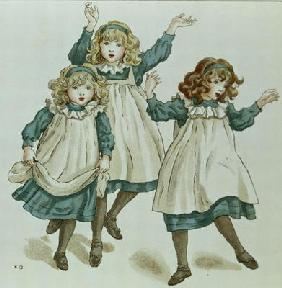 The Strains of Polly Flinders, from 'April Baby's Book of Tunes' 1900