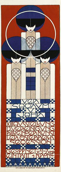 Poster for the Vienna Secession Exhibition