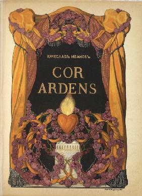"Frontispiece for the book of poems ""Cor Ardens"" by Vyacheslav Ivanov"