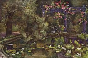 The Garden of Sir Laurence Alma-Tadema, RA