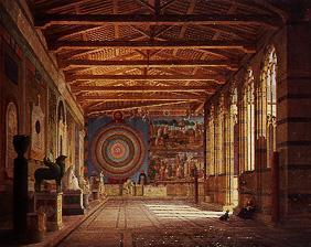 The Camposanto in Pisa.