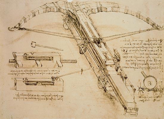 Catapulta gigante opera di leonardo da vinci for Catapulta di leonardo da vinci
