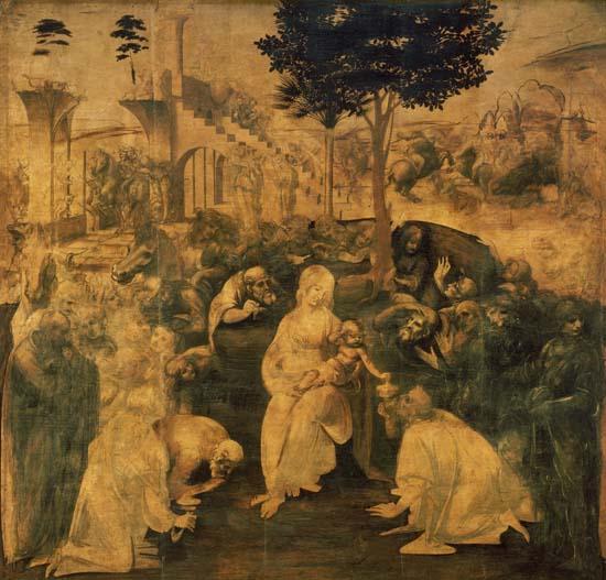 Leonardo's Adorazione dei Magi