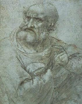 Study for an Apostle from the Last Supper