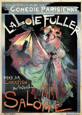 Loïe Fuller as Salomé