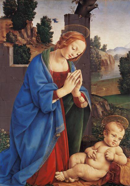 The Virgin Adoring the Child, 1490-1500