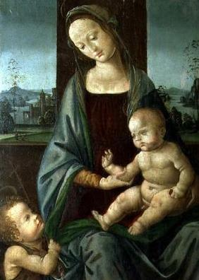 Madonna and Child with the Infant St. John the Baptist