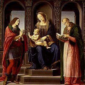 The Madonna with the hll.Julian and Nikolaus of Myra.