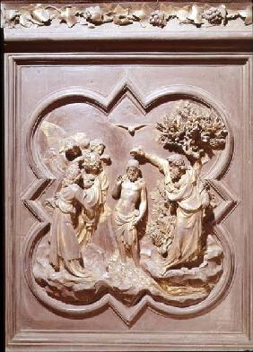 The Baptism of Christ, panel for the North Door