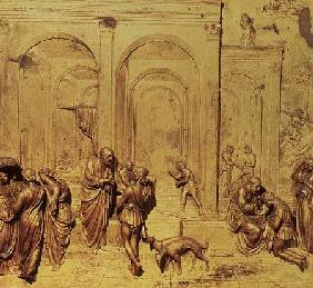 Florence Baptistry, Doors of Paradise: Story of Isaac