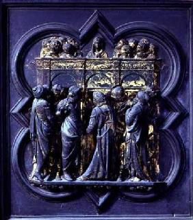 Pentecost, twentieth panel of the North Doors of the Baptistery of San Giovanni
