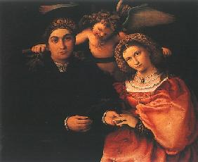 Marsilio Cassotto and his wife