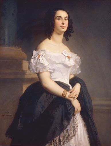 ritratto di Adèle Hugo