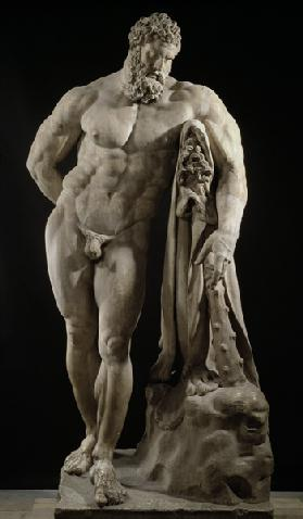 The Farnese Hercules, Roman