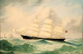 Full Rigged Ship 'Mary Scott'
