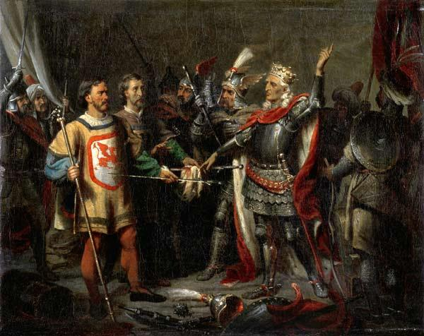 Wladyslaw II Jagiello (c.1351-1434) Before the Battle of Tannenberg, 15th July 1410