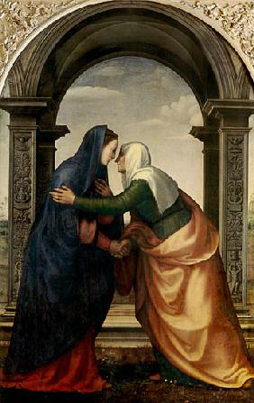 The Visitation of St. Elizabeth to the Virgin Mary