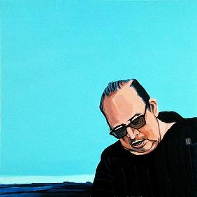Cuban Portrait #7, 1996 (acrylic on canvas)
