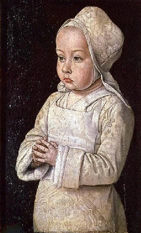 Portrait of Suzanne of Bourbon (1491-1521) daughter of Peter II and Anne of France, Duke and Duchess