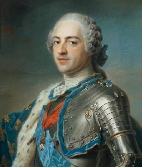 Portrait of King Louis XV