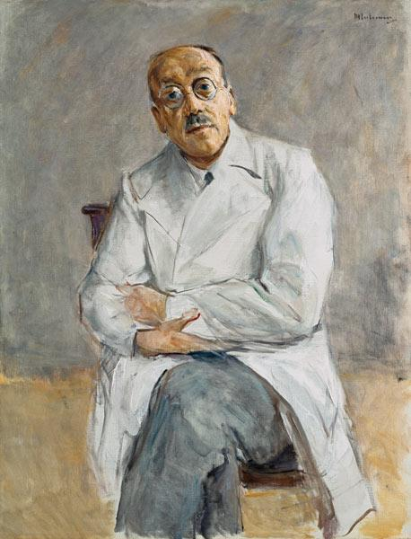 portrait of the surgeon professor Ferdinand Sauerbruch