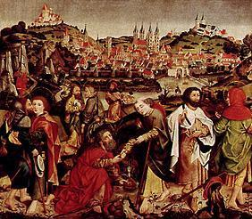 The apostle gave off with view of Bamberg of the east