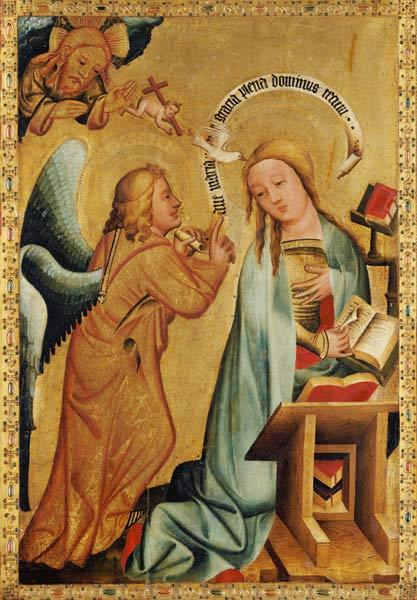 The Annunciation from the High Altar of St. Peter's in Hamburg, the Grabower Altar