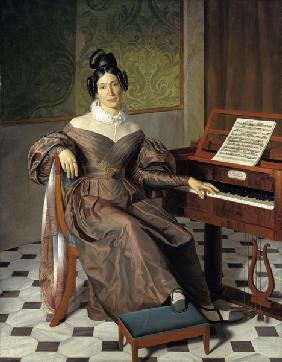 The singer Isabella Colbran