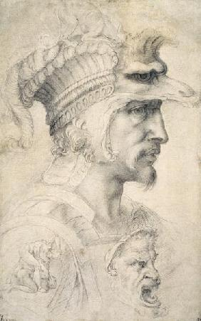Study of Warrior's Head