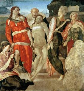 The Entombment (unfinished) (panel)